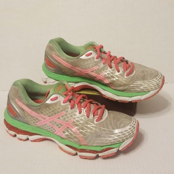 newest ad483 64404 Asics Gel-Nimbus 17 shoes women's size 8